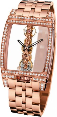 Corum Golden Bridge Diamonds (RG / Skeleton / Bracelet)