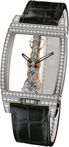 Corum Golden Bridge Diamonds (WG-Diamonds / Skeleton / Leather Strap)
