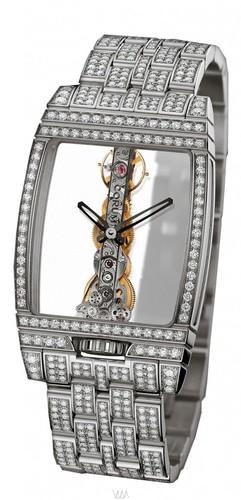 Corum Golden Bridge Diamonds (WG / Skeleton / Bracelet)