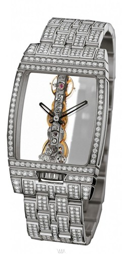 Corum Golden Bridge Diamonds (WG / Skeleton / Bracelet)