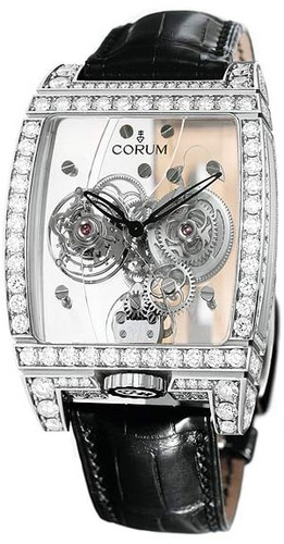 Corum Golden Tourbillon Panoramique Diamond Watch 382.851.69/0F01 0000