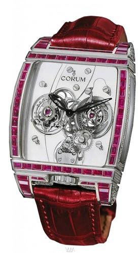 Corum Golden Tourbillon Panoramique Ruby Watch 382.856.69/0F86 0000