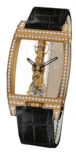 Corum Watches Golden Bridge Gold Diamonds 113.751.65/0001 0000J