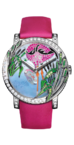 Boucheron Crazy Jungle Flamingo Watch WA010225
