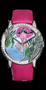 Boucheron Crazy Jungle Flamingo Watch WA010225