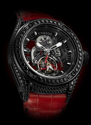 Cvstos Challenge-R 50 T-S Tourbillon Black Diamonds