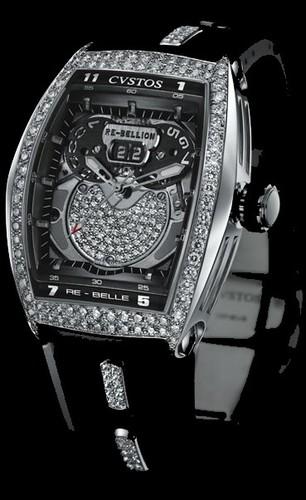 Cvstos RE-Bellion Diamond White Gold DD RB WGR