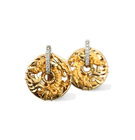 Серьги Carrera y Carrera Shanghai Earrings DA10423 030101