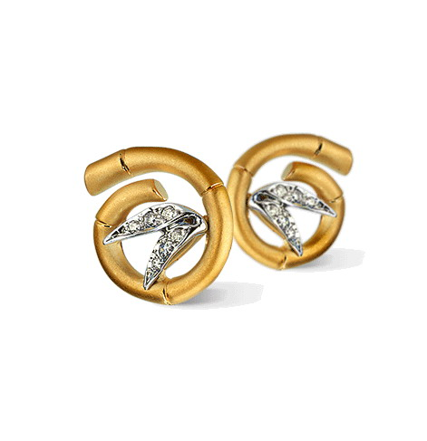 Серьги Carrera y Carrera Tao MINI Earrings DA10574 030101