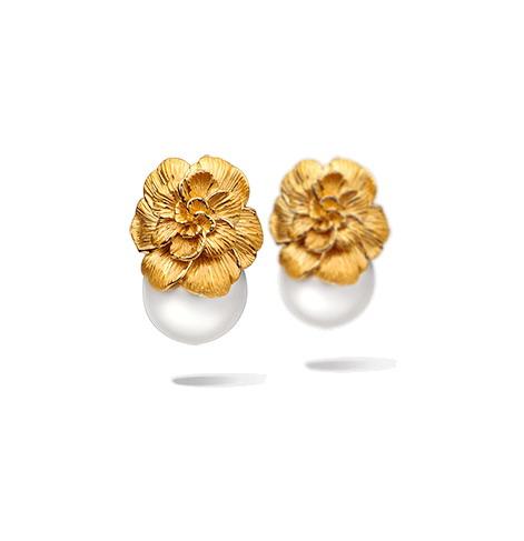 Серьги Carrera y Carrera Gardenia Earrings DA11579 010519