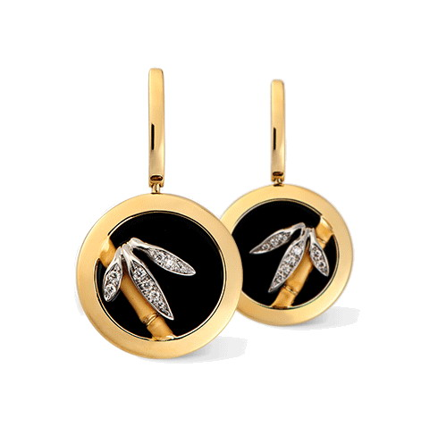Серьги Carrera y Carrera Baile De Bambu Earrings DA11593 030708