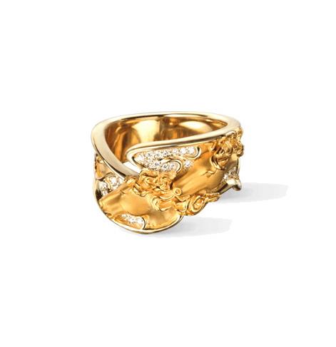 Кольцо Carrera y Carrera Caballo Ring DA13403 010101