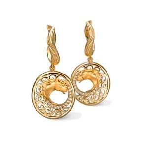 Серьги Carrera y Carrera Caballo Earrings DA13405 010101
