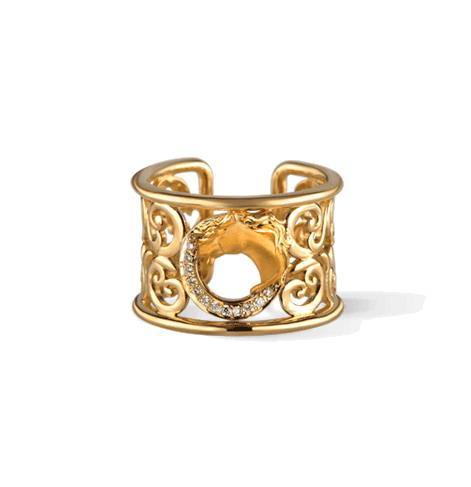 Кольцо Carrera y Carrera Caballo Ring DA13406 010101