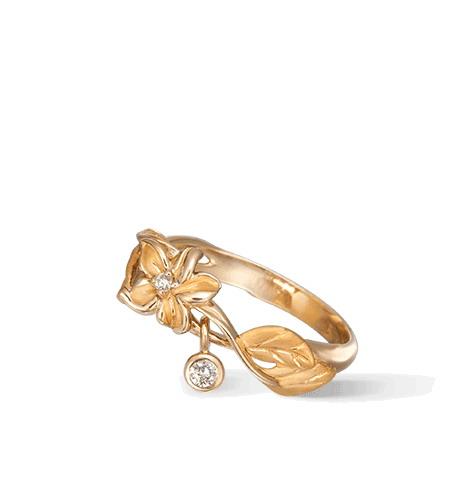 Кольцо Carrera y Carrera Emperatriz MINI Ring DA13457 010101