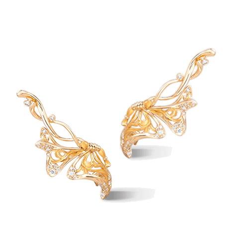 Серьги Carrera y Carrera Alegoria MEDIUM Earrings DA13903 010101
