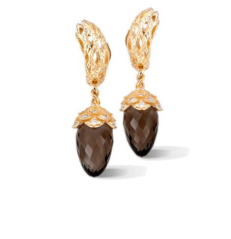 Серьги Carrera y Carrera Savia MEDIUM Earrings DA13957 013107