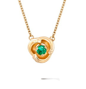 Колье Carrera y Carrera Origen MINI Necklace (Emerald) DA14059 010202