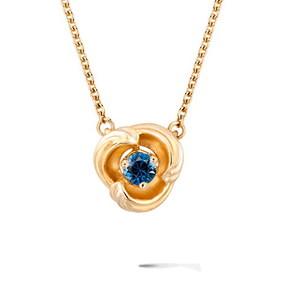 Колье Carrera y Carrera Origen MINI Necklace (Blue Sapphire) DA14059 010404