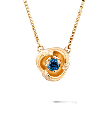 Колье Carrera y Carrera Origen MINI Necklace (Blue Sapphire) DA14059 010404
