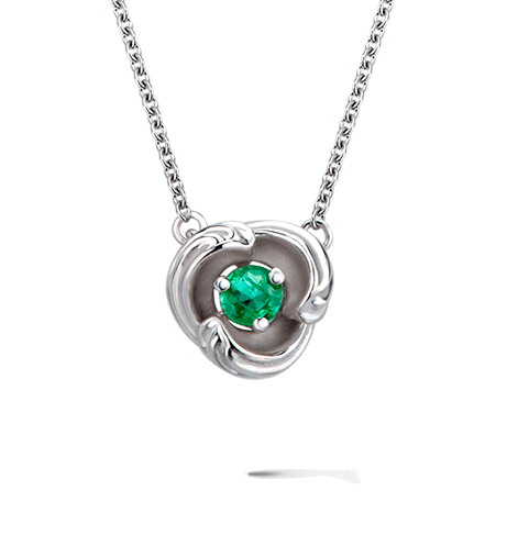 Колье Carrera y Carrera Origen MINI Necklace (Emerald) DA14059 020202