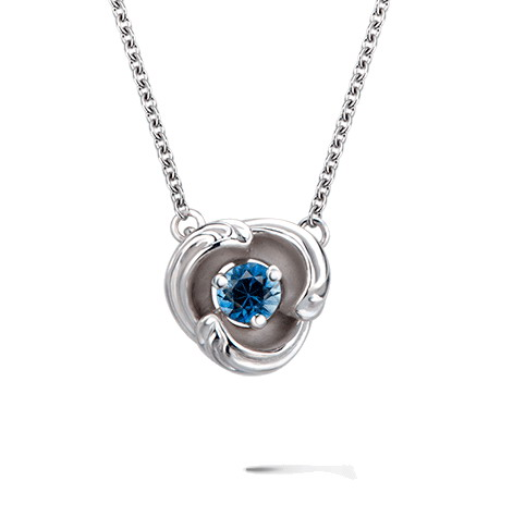 Колье Carrera y Carrera Origen MINI Necklace (Blue Sapphire) DA14059 020404