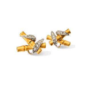 Серьги Carrera y Carrera Bambu Earrings DA11806 030101