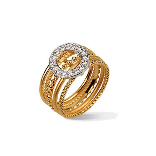 Кольцо Carrera y Carrera Melodia MEDIUM Ring DA12704 030101