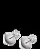 Damiani ELETTRA серьги из белого золота с бриллиантами