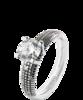 Damiani METROPOLITAN DREAM кольцо с бриллиантом