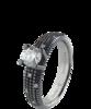 Damiani METROPOLITAN DREAM кольцо из черного золота