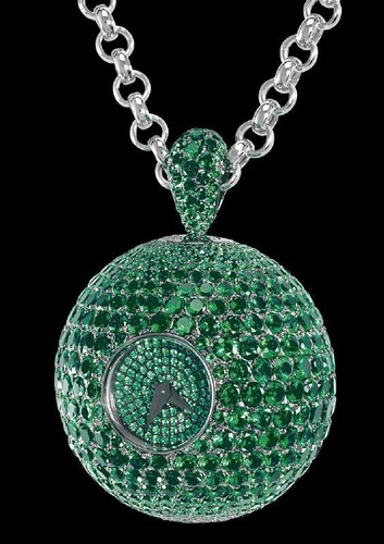 de Grisogono Boule S011 (WG / Diamonds / Chain)
