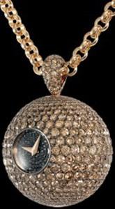 de Grisogono Boule S08 (RG / Diamonds / Chain)