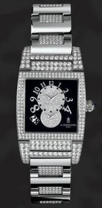 de Grisogono Uno Dual Time (WG-Diamonds / Black-White Diamonds / WG-Diamonds)