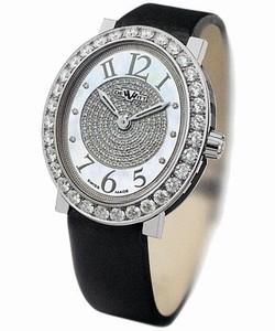 DeWitt Alma (WG / 1 Row Diamonds / Pave Dial) AL.0401.48 / 01.M107 / 01