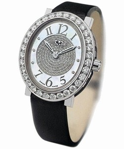 DeWitt Alma (WG / 1 Row Diamonds / Pave Dial) AL.0401.48 / 01.M107 / 01
