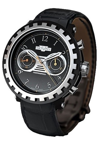 DeWitt Blackstream Chronograph (Black Titanium / Black) AC.6005.37A.M090