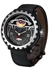 DeWitt Blackstream Triple Complication GMT 3 (Black Titanium / Black) AC.2041.37.M050