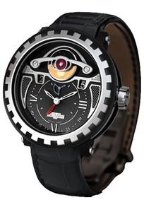 DeWitt Blackstream Triple Complication GMT 3 (Black Titanium / Black) AC.2041.37.M050