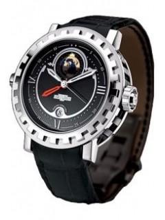 DeWitt Double Fuseau GMT2 Poetic (WG / Black) AC.2002.48.M0