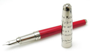 S.T. Dupont Elvis Presley Fountain Pen by Andy Warhol, 480466M