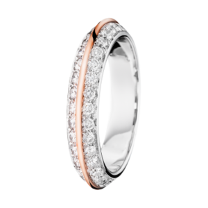 Boucheron Eternelle Grace Wedding Band WRG Diamonds