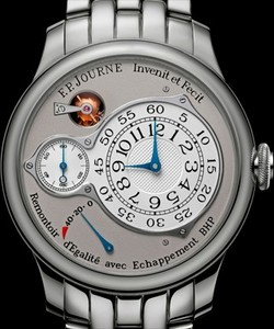 F. P. Journe Souveraine Chronometre Optimum Platinum Bracelet