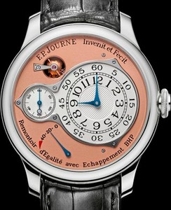F. P. Journe Souveraine Chronometre Optimum Platinum Croco