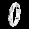 Boucheron Facette Platinum Wedding Band Diamonds