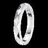 Boucheron Facette Platinum Small Wedding Band