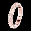 Boucheron Facette pink gold Wedding Band