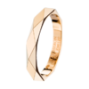 Boucheron Facette yellow gold Wedding Band