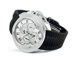 Franc Vila Franc Vila Chronograph Master Quantieme Automatique (SS / Silver / Strap) FVa9