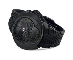 Franc Vila Franc Vila El Bandido Chronograph Grand Dateur Automatique Dark Side (SS / Black / Strap) Fva8ch